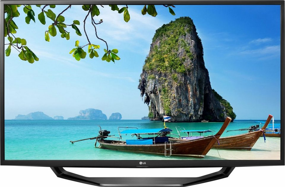 LG 43UH620V, LED Fernseher, 108 cm (43 Zoll), 2160p (4K Ultra HD), Smart-TV in schwarz