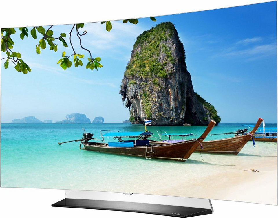 lg oled55c6d curved oled fernseher 139 cm 55 zoll 2160p 4k ultra hd smart tv online. Black Bedroom Furniture Sets. Home Design Ideas