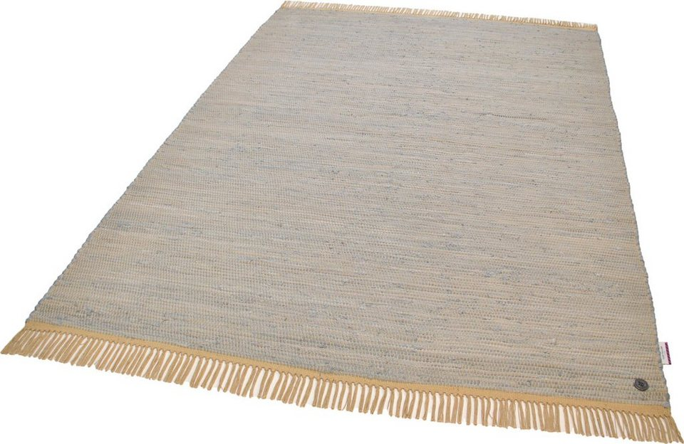 Teppich Cotton Colors Tom Tailor Rechteckig Hohe 8 Mm Online