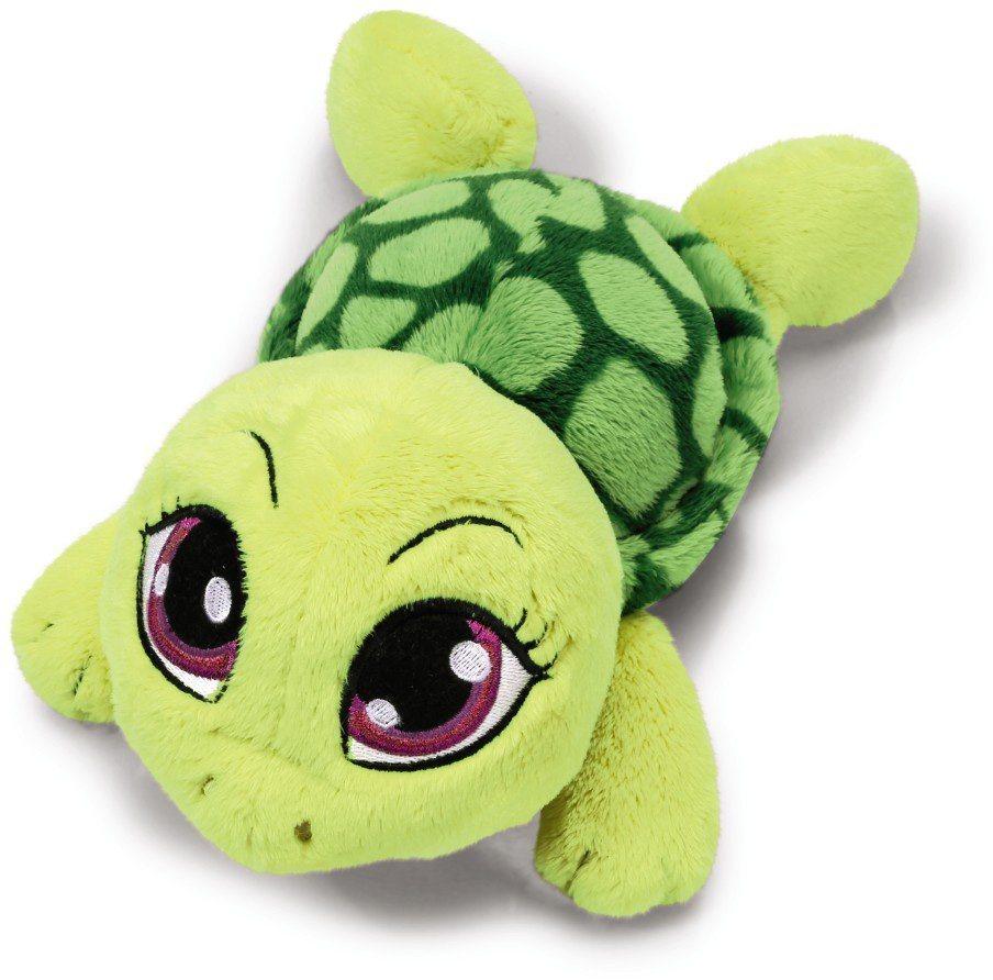 NICI Plüschtier liegend, 25 cm, »Sweethearts Schildkröte grün« in grün