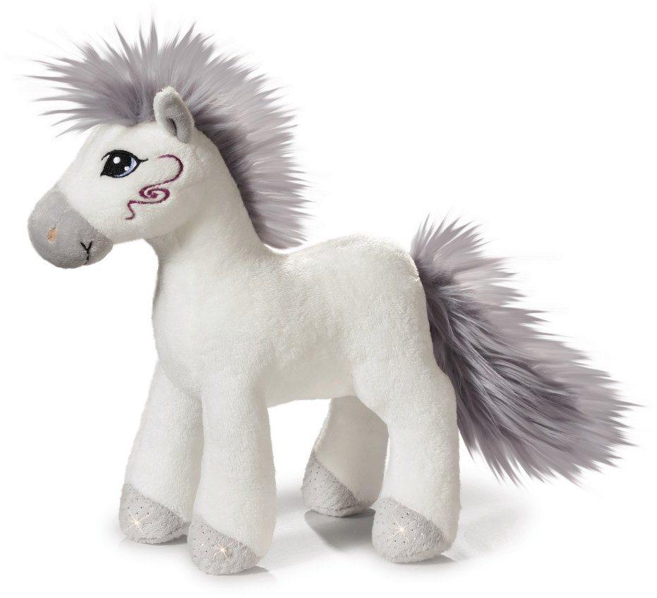 NICI Plüschtier Pferd stehend, 25 cm, »Soulmates Miracle« in weiß