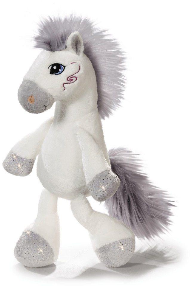 NICI Plüschtier Schlenker Pferd XL, 80 cm, »Miracle« in weiß