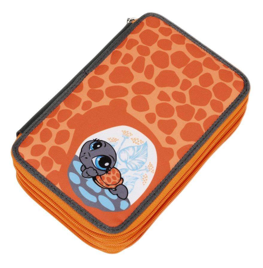 NICI Mäppchen gefüllt, »Sweethearts Schildkröte orange« in orange