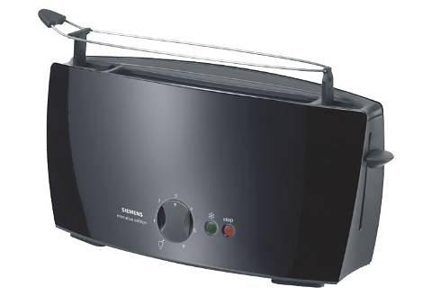 Siemens Langschlitz-Toaster »executive edition«, 900 Watt in schwarz