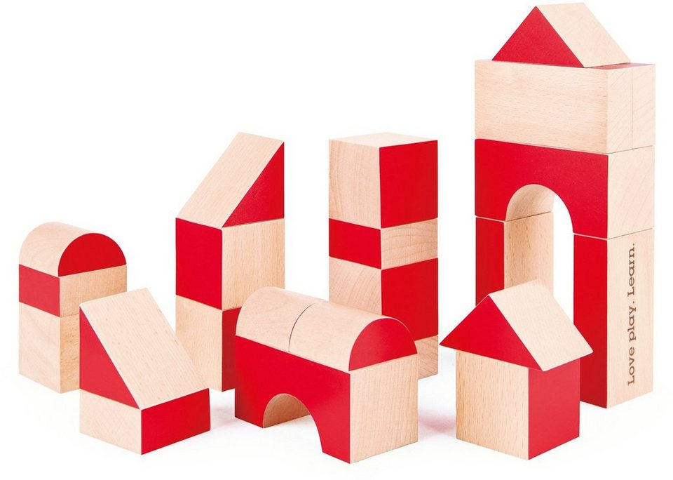 Hape Bausteine Set aus Holz, »30 Jahre Edition«
