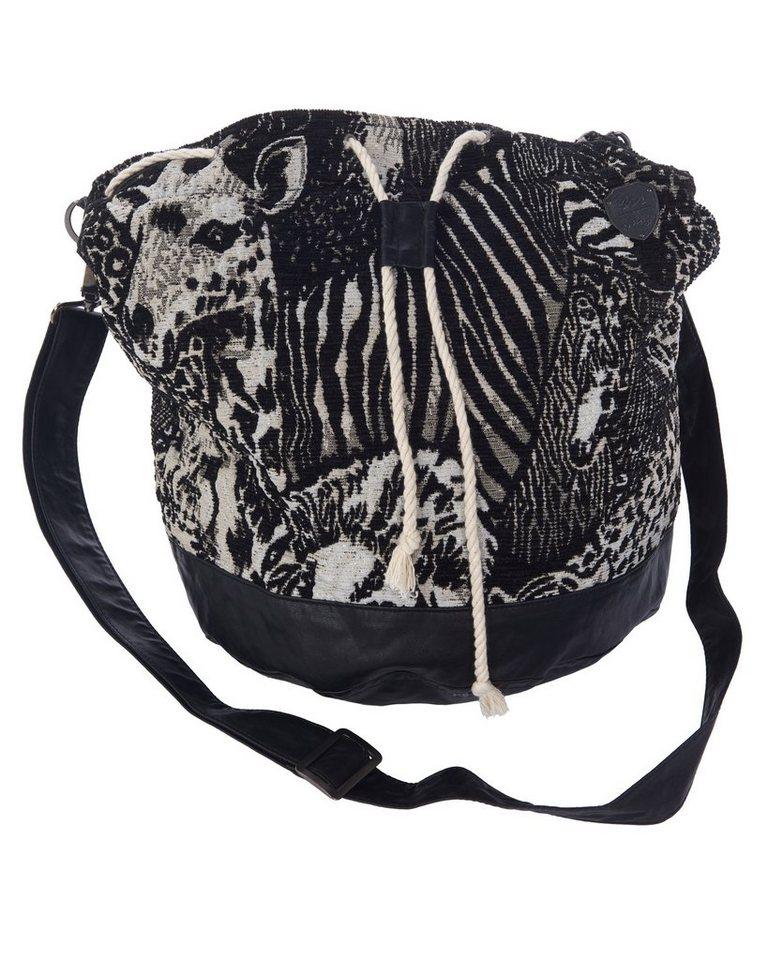 MAZE Handtasche, Damen Damaskus in schwarz