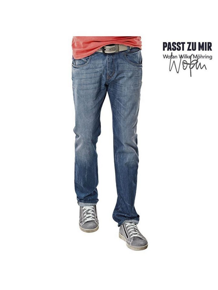 engbers Jeans in Royalblau