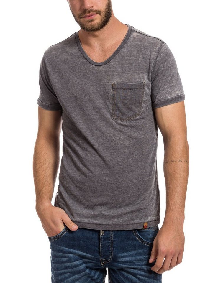 TIMEZONE T-Shirts (kurzarm) »T-shirt« in grey anthra