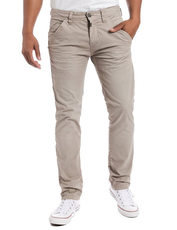 TIMEZONE Hosen lang »ArturTZ chino pants« in nature beige