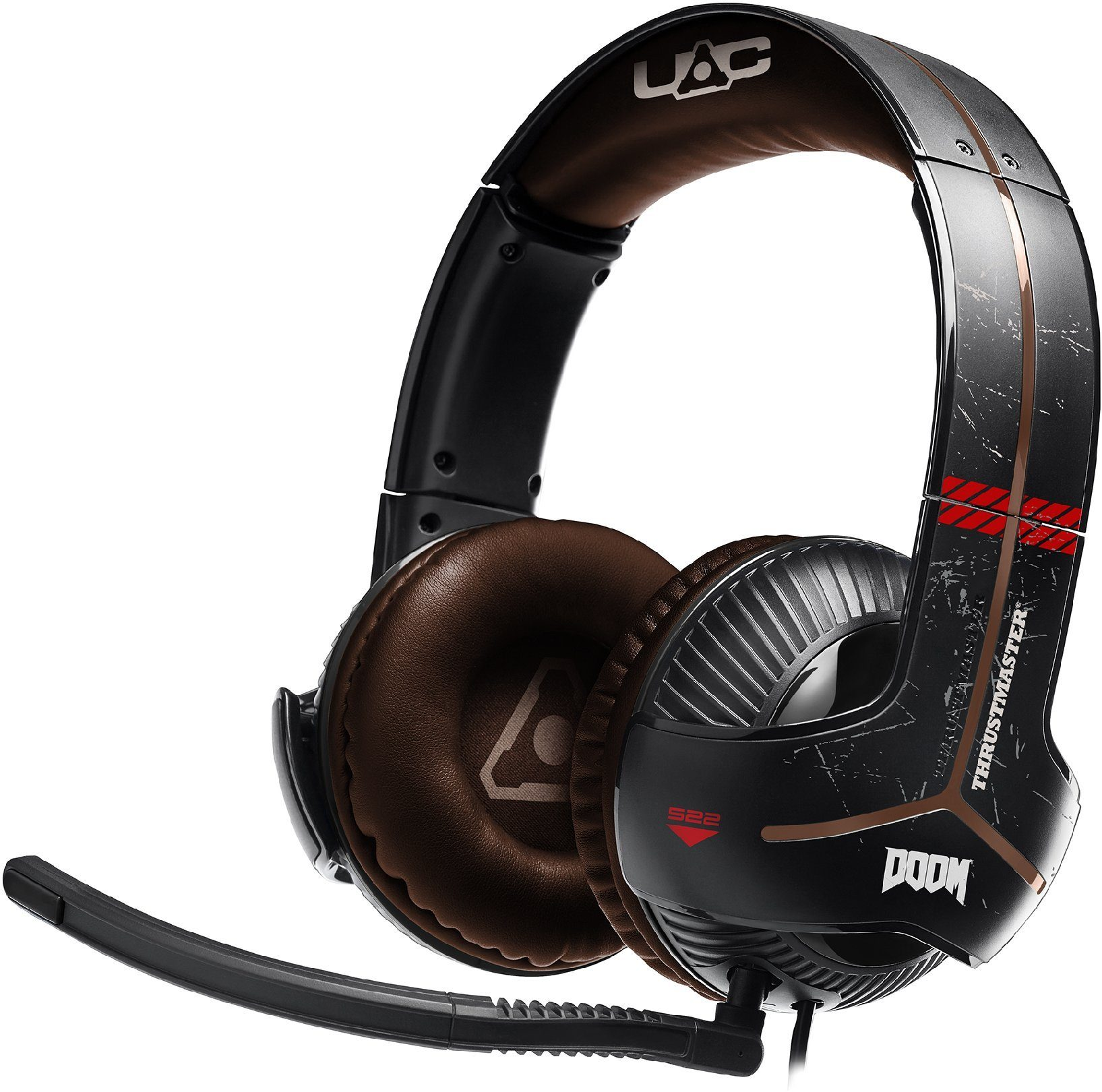 Thrustmaster Y-350X Doom Edition 7.1 Gaming Headset »XBox One PC«