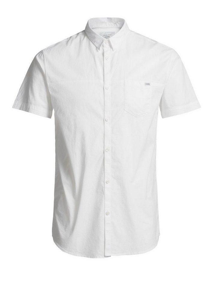 Jack & Jones Clean-Cut- Kurzarmhemd in White