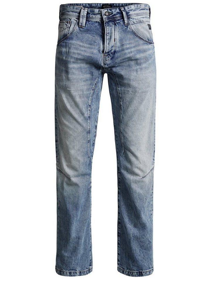 Jack & Jones Stan Isaac JJ 964 Anti Fit Jeans in Blue Denim
