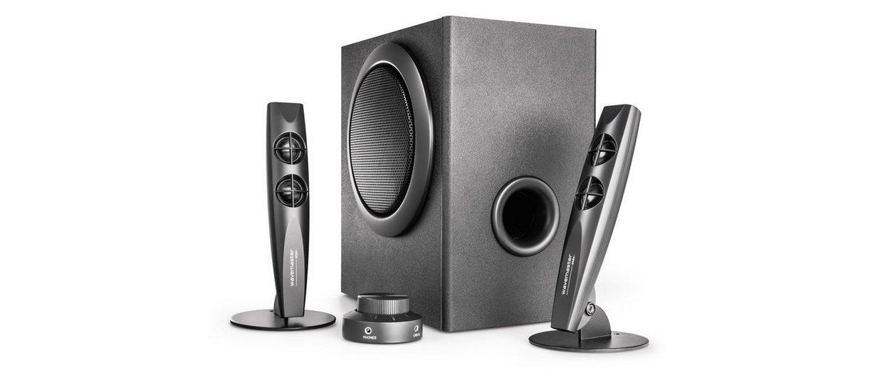 wavemaster STAX BT - 2.1 Stereo Lautsprecher System