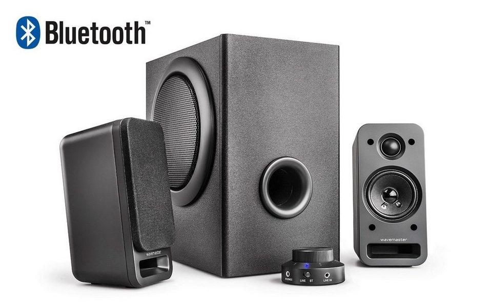 wavemaster mx 3 bt 2 1 stereo soundsystem kaufen otto. Black Bedroom Furniture Sets. Home Design Ideas