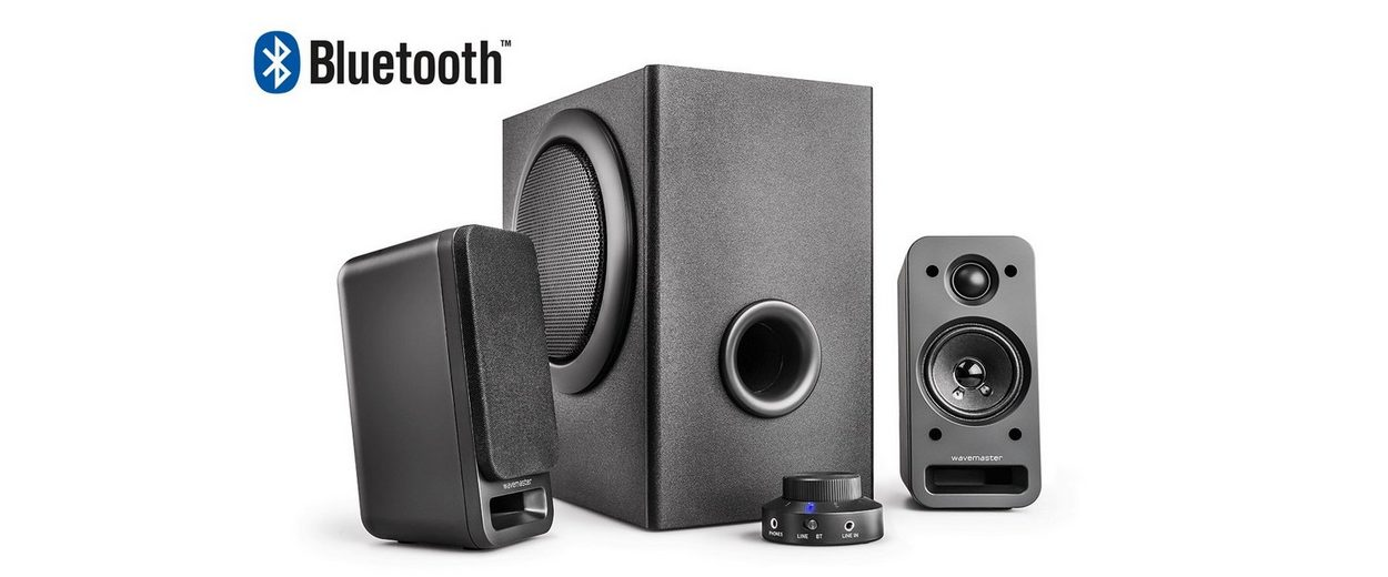 wavemaster MX-3+ BT 2.1 Stereo Soundsystem