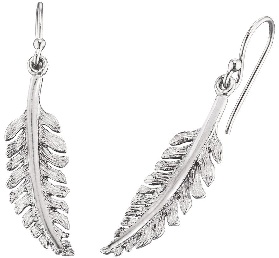 NAHU Paar Ohrhaken, »Vitis, NAE-VITIS« in Silber 925