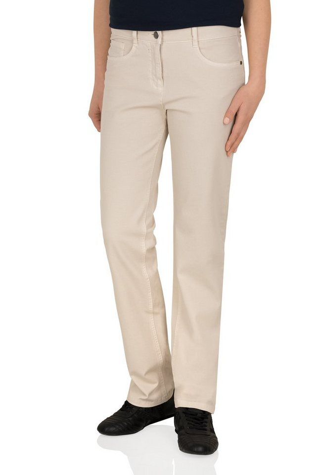 Redpoint 5-Pocket »Sally Slim« in beige