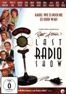 DVD »Robert AltmanŽs Last Radio Show«