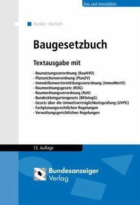 Broschiertes Buch »Baugesetzbuch«