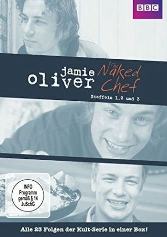 DVD »Jamie Oliver - The Naked Chef, Staffel 1-3 (5...«