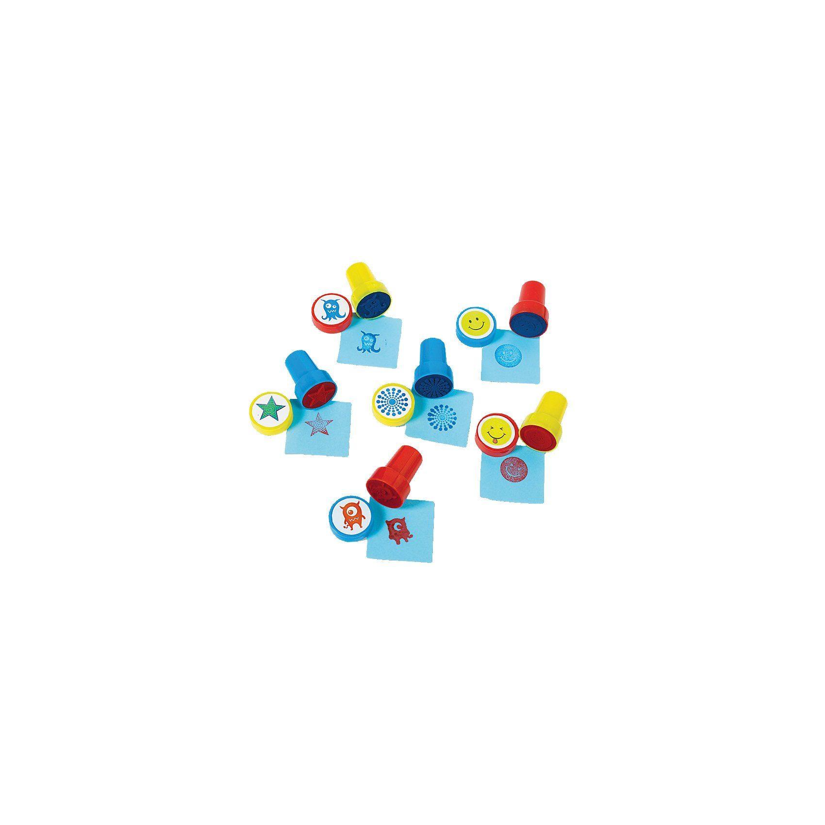 Amscan Mitgebsel kleine Stempel, 6 Stück