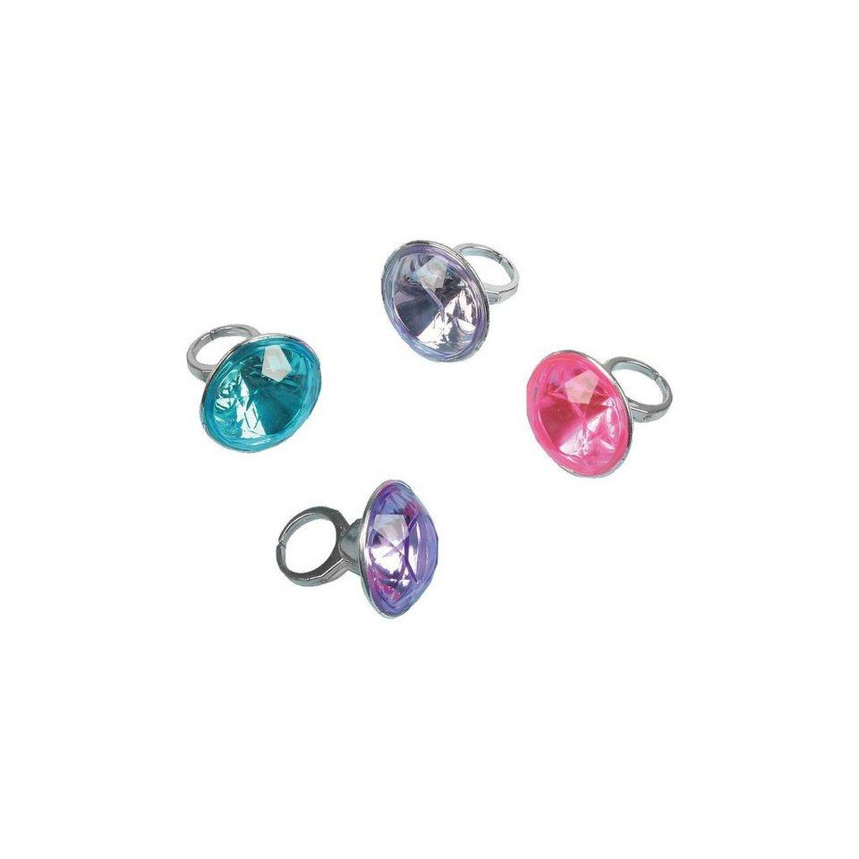 Amscan Mitgebsel Ringe, 8 Stück