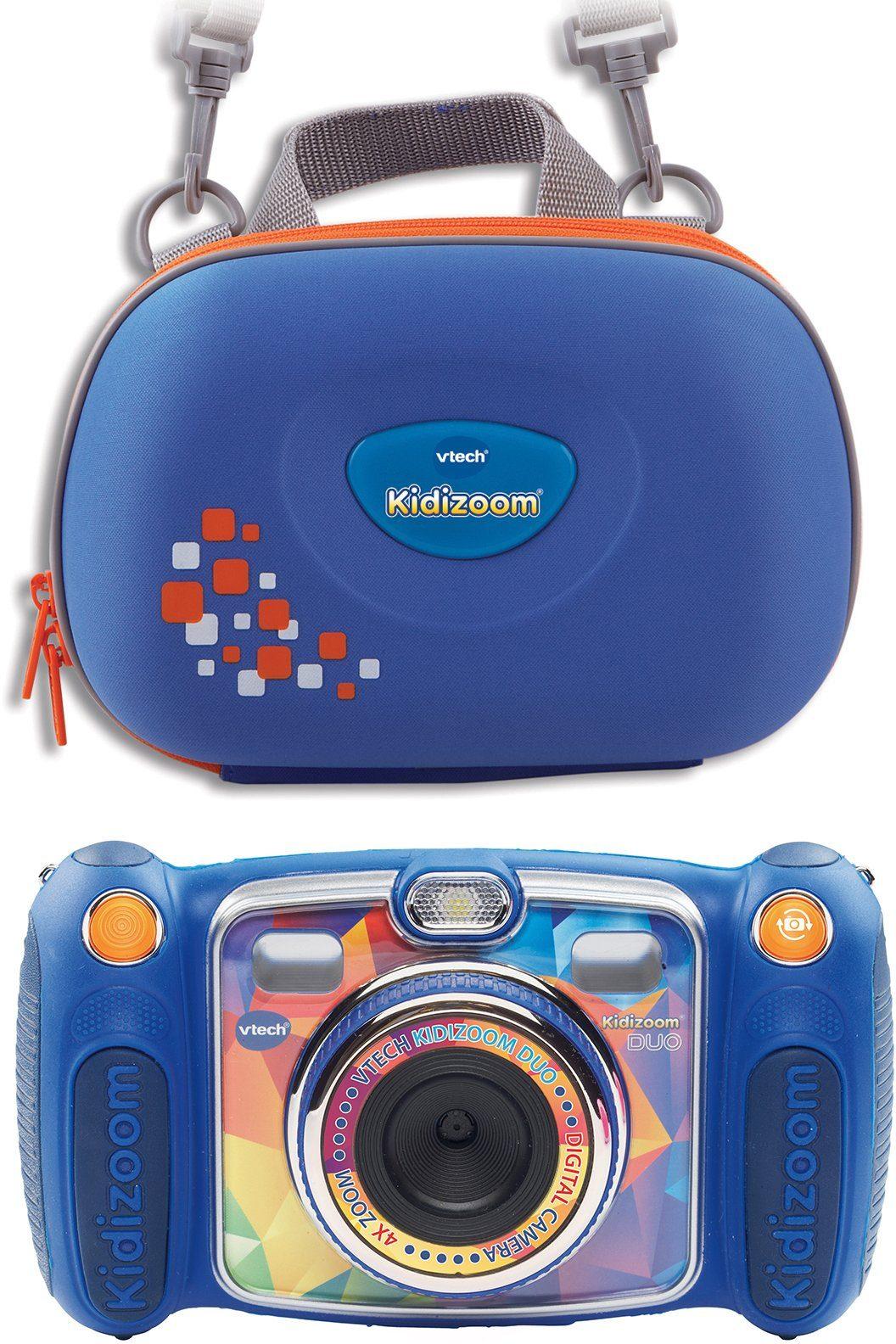 VTech Kinder Digitalkamera inkl. Tragetasche, »Kidizoom DUO«