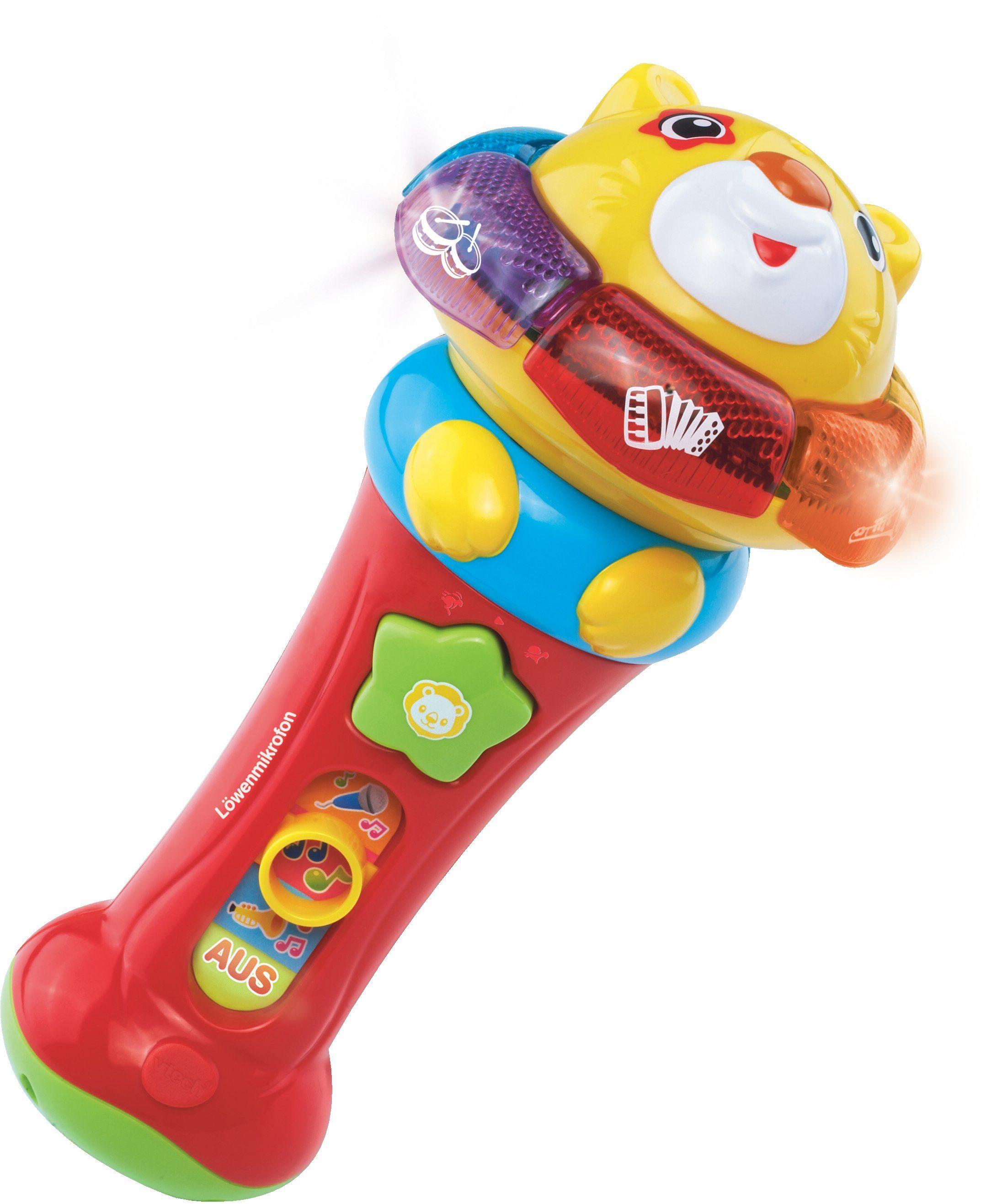 VTech Kindermikrofon mit Spielfunktion, »Löwenmikrofon«