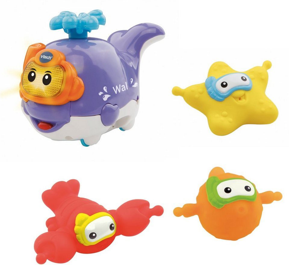 VTech Badespielzeug, »Tut Tut Baby Badewelt Ozeantiere«