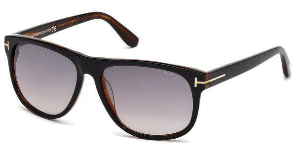 Tom Ford Herren Sonnenbrille »Olivier FT0236« in 05B - schwarz/grau