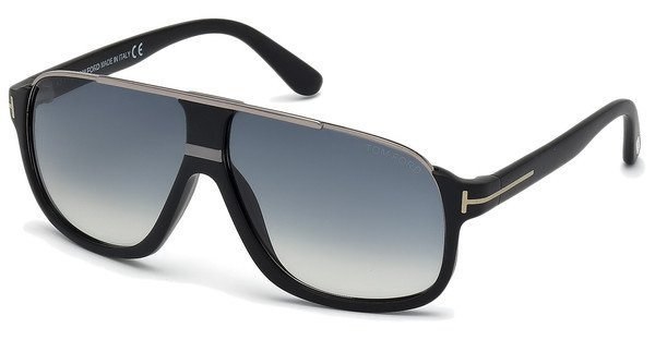Tom Ford Herren Sonnenbrille »Eliott FT0335« in 02W - schwarz/blau