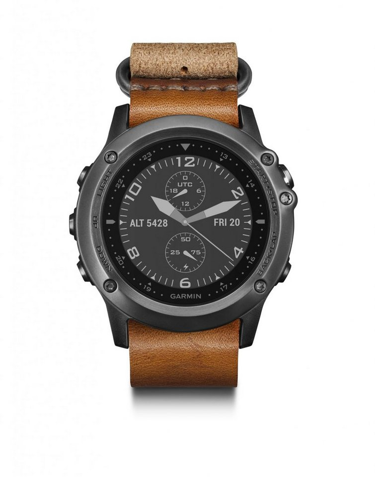 Garmin Sportuhr »fenix 3 Saphir GPS Multisportuhr inkl.« in schwarz
