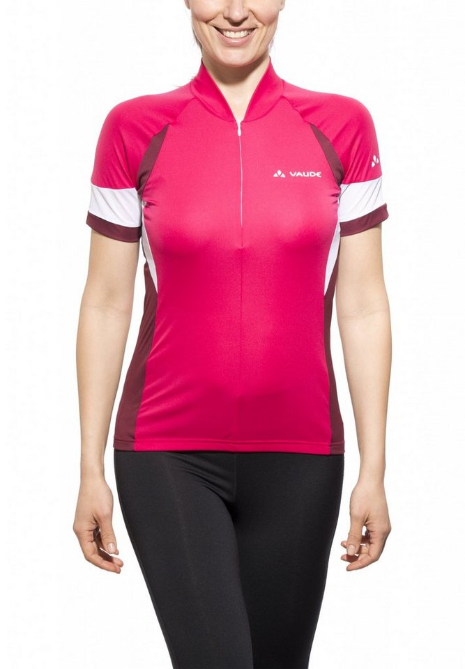 VAUDE Radtrikot »Advanced Tricot Women« in rot