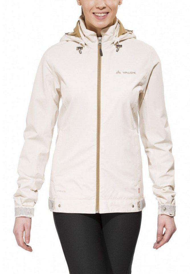 VAUDE Radjacke »Cyclist Jacket Women« in beige