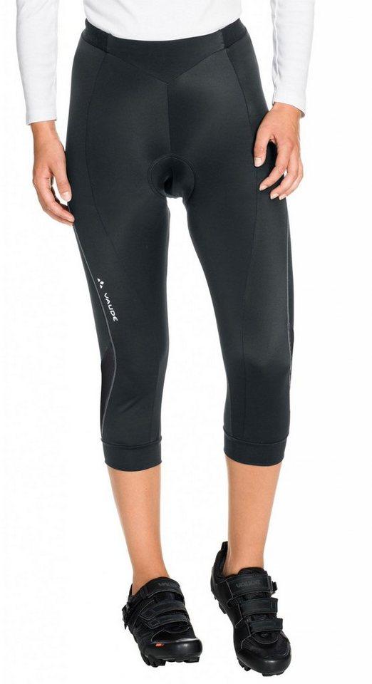 VAUDE Radhose »Advanced II 3/4 Pants Women« in schwarz