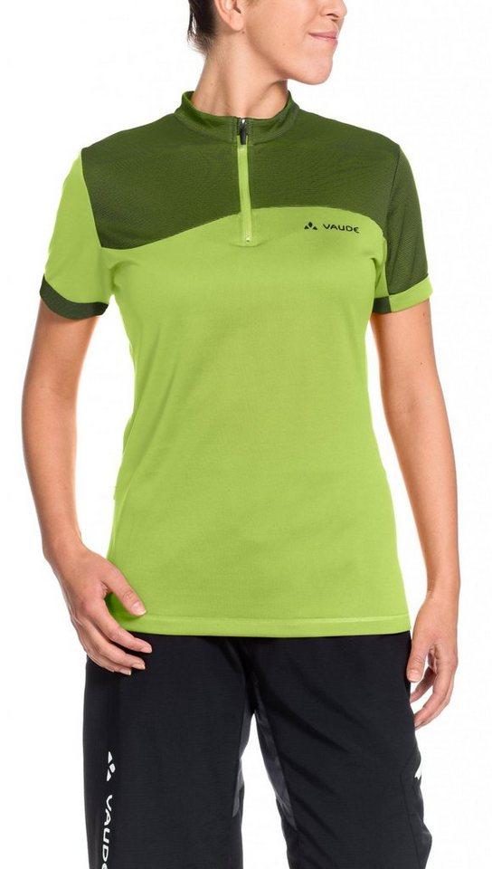 VAUDE Radtrikot »Tremalzo II Shirt Women« in grün