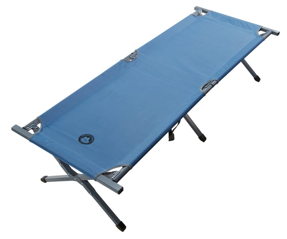 Grand Canyon Bett & Liegen »Alu Camping Bed Extra Strong L« in blau