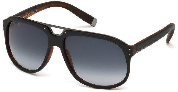 Dsquared² Herren Sonnenbrille » DQ0005« in 05W - schwarz/blau