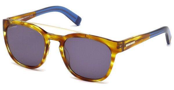 Dsquared² Herren Sonnenbrille » DQ0164« in 47V - braun/blau