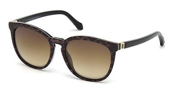 Roberto Cavalli Damen Sonnenbrille » RC1019« in 05G - schwarz/braun