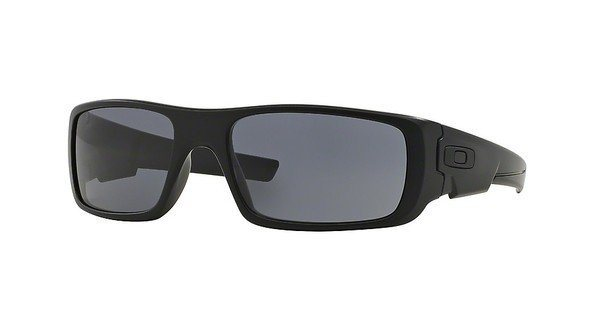 Oakley Herren Sonnenbrille »CRANKSHAFT OO9239« in 923912 - schwarz/grau