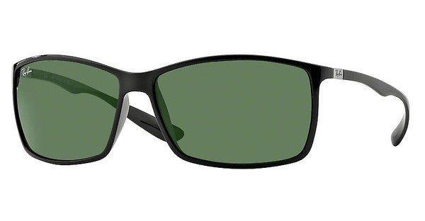 RAY-BAN Herren Sonnenbrille »LITEFORCE RB4179« in 601/71 - schwarz/grün