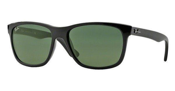 RAY-BAN Herren Sonnenbrille » RB4181« in 601 - schwarz/grün