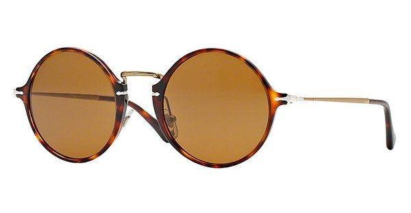 Persol Herren Sonnenbrille » PO3091SM« in 24/33 - braun/braun