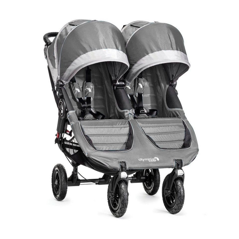 BABYJOGGER City Mini™GT Double Zwillingswagen in Steel / Gray