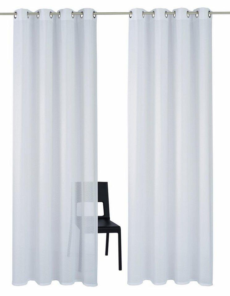 gardine my home freiburg mit sen 2 st ck otto. Black Bedroom Furniture Sets. Home Design Ideas