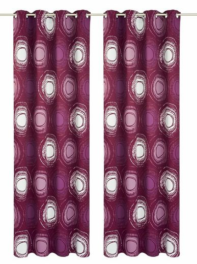 Vorhang »Bao«, my home Selection, Ösen (2 Stück)