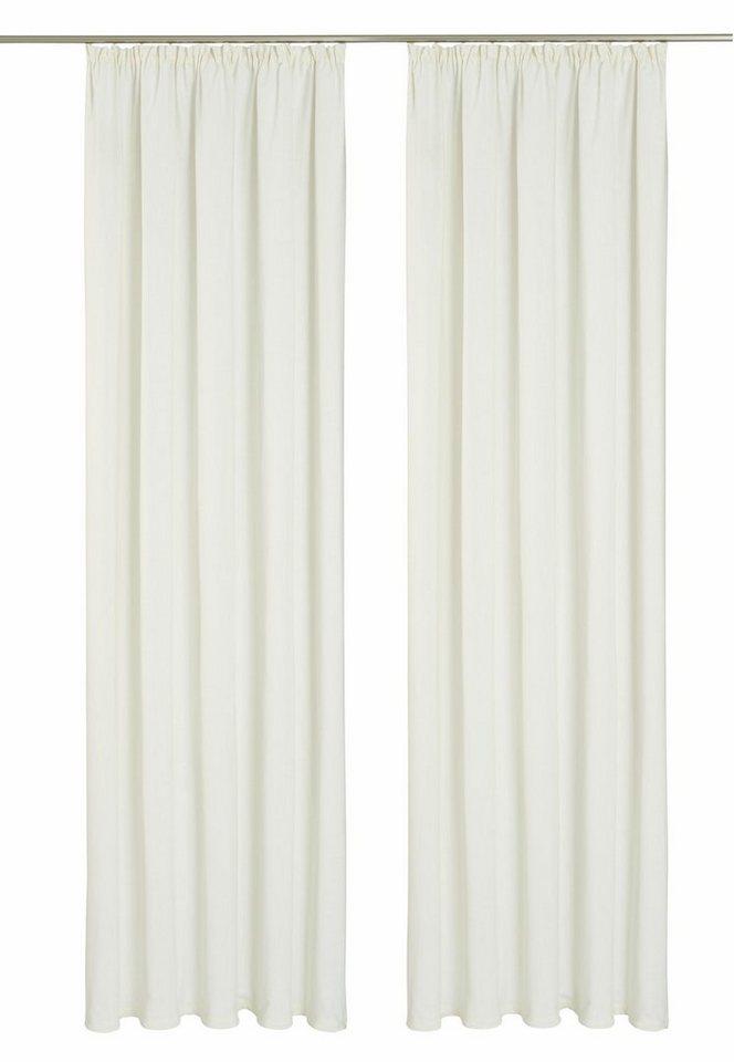 Vorhang, my home, »Henford« (2 Stück) in weiß