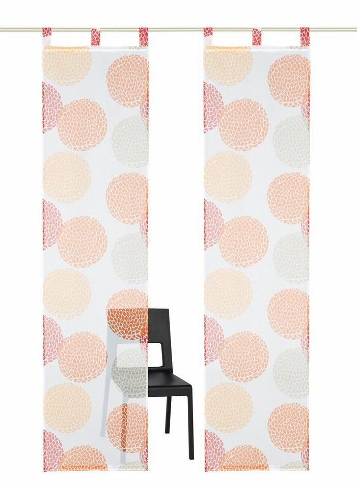 schiebegardine belem my home schlaufen 2 st ck inkl. Black Bedroom Furniture Sets. Home Design Ideas
