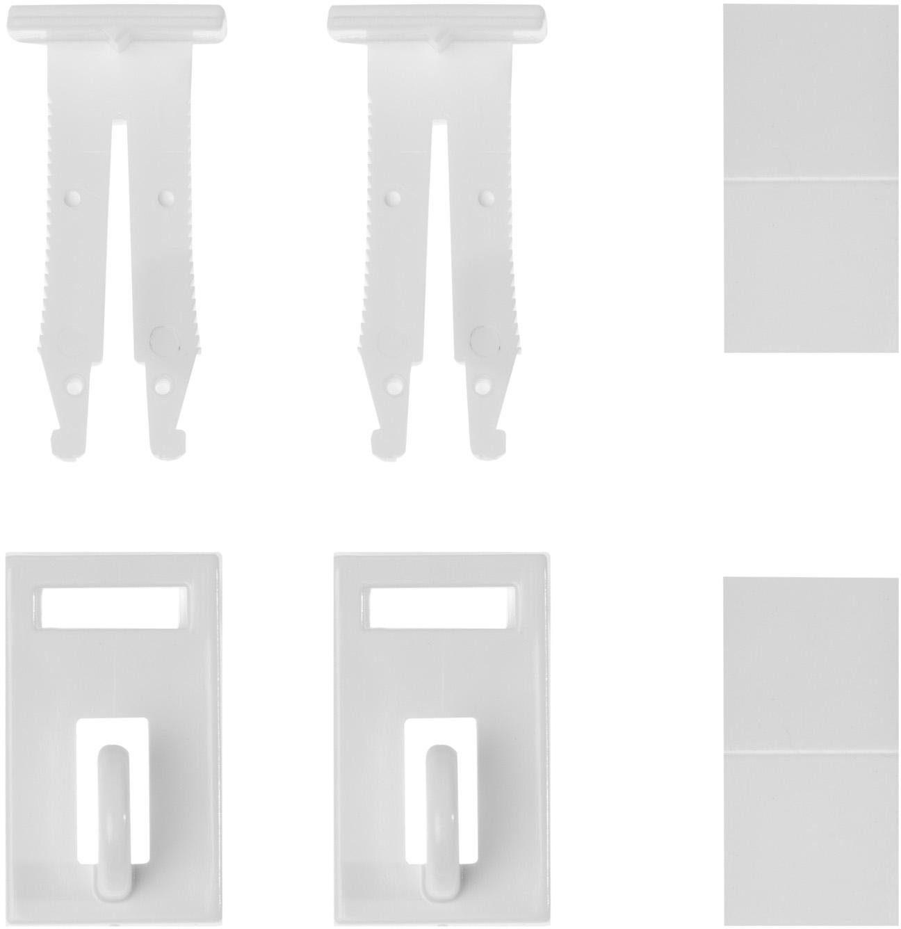 Klemmträger, Lichtblick, »Klemmfix Haken«, für Fensterdekoration (2 Stück)